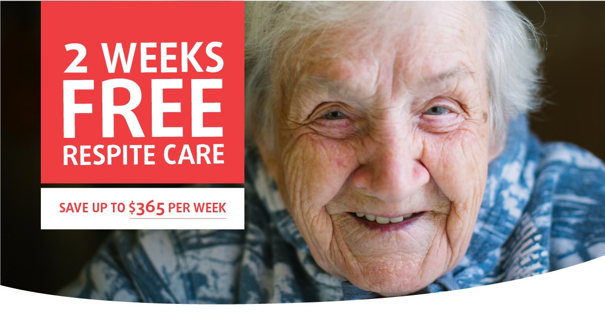 2 weeks free respite care