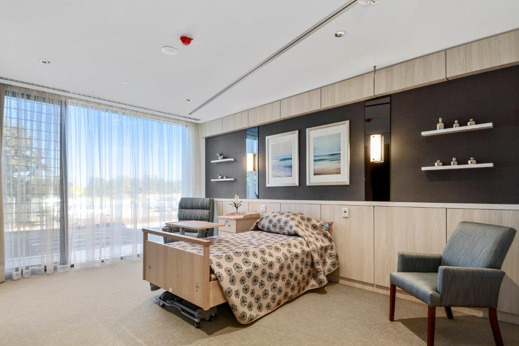 TriCare Cypress Gardens Aged Care bedroom